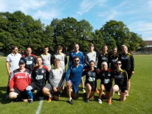 FF 2018 1. Spieltag Freizeit/Mixed  in Schwerin